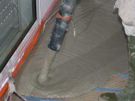 Sika Visco Chape, chape fluide ciment
