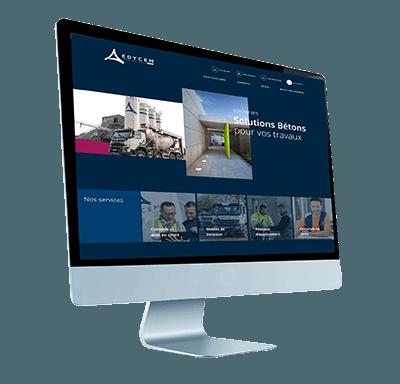 La page d'accueil du nouveau site Internet EDYCEM BPE